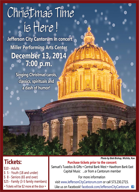 2014 Christmas concert poster